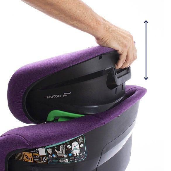 silla de coche raga, RAGA 100-150cm